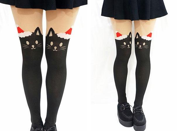 7 . Kedili çorap