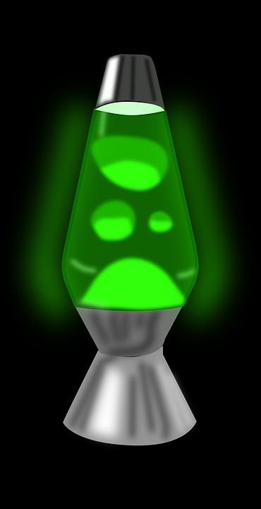 17 . Eğer lav lambasını masadan aşağıya itmeyi seçtiysen.