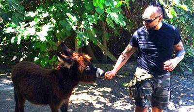 Hayko Cepkin İstanbul'dan bunalınca Kuşadası'na taşındı; artık hayvanlarıyla beraber özgürce yaşıyor