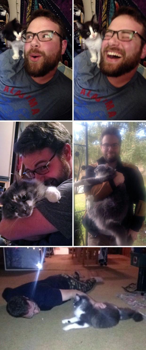 """2. """"Kedileri sevmiyorum diyen erkek arkadaşımın sonu."""""""